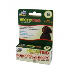 22684 - HECTOTRIO 4,5ML CAES 16 A 24KG PULGA/CAR