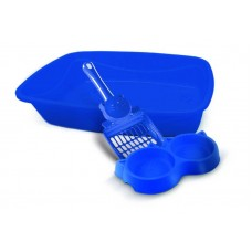 23073 - KIT GATO LUXO 3X1 PET INJET AZUL
