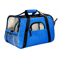 25506 - BOLSA TRANSPORTE DOG BAG GDE AZUL