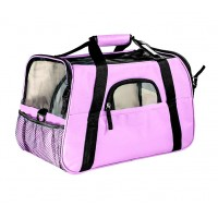 25507 - BOLSA TRANSPORTE DOG BAG GDE ROSA