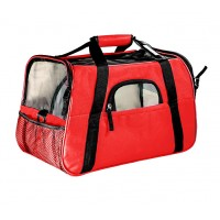 25463 - BOLSA TRANSPORTE DOG BAG GDE VERM