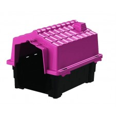 24857 - CASA ECO COLORS DOG HOUSE EVO N 2 ROSA