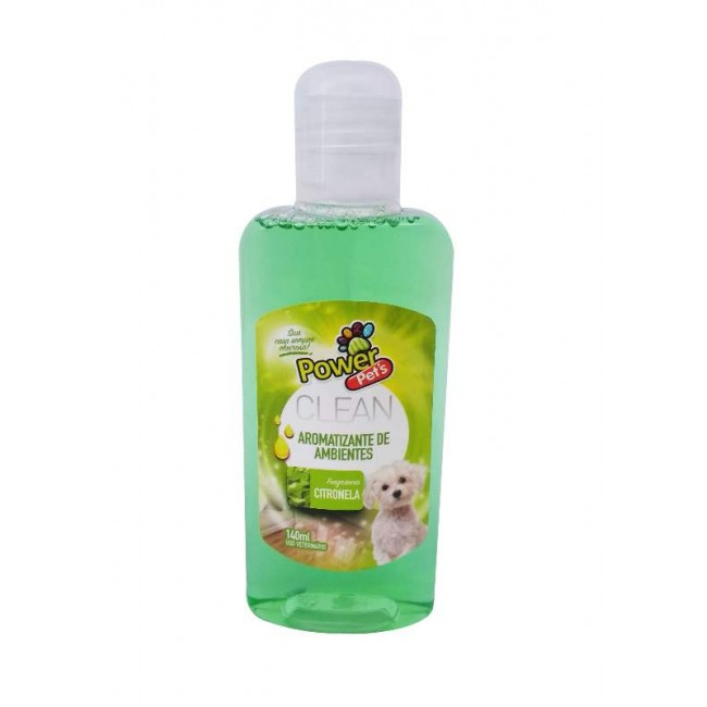 AROMATIZANTE POWERPETS CITRONELA 140ML