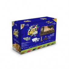 25764 - KIT GATO PRIME GIRAFA 7 PCS POWERPETS