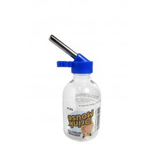 28509 - BEBED PLAST DRINK MOUSE INOX 120ML