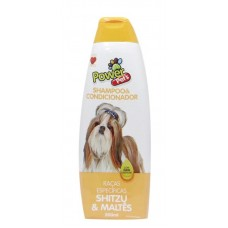 26720 - SHAMPOO POWER PETS SHITZU/MALTES 500ML