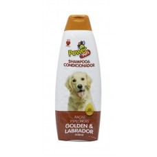 26723 - SHAMPOO POWER PETS GOLDEN/LABRADOR 500ML
