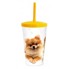 30186 - COPO PET LULU POMERANIA 600ML