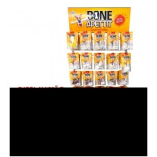29798 - DISPLAY BONE APETTIT SNACKS C/25 GANCHOS