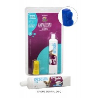 23928 - KIT DENTAL CREME 60G + DEDEIRA SILICONE