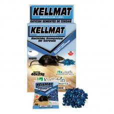 26623 - KELLMAT RATICIDA SEMENT CEREAIS 40X25G