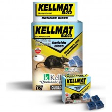 20703 - KELLMAT RATICIDA BLOCO 20G CX C/4UN 39
