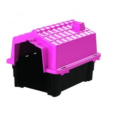 24859 - CASA PRIME COLORS DOG HOUS EVO N 1 PINK