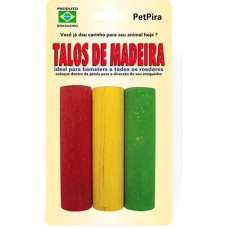 13777 - TALOS DE MADEIRA P/ ROEDORES PETPIRA