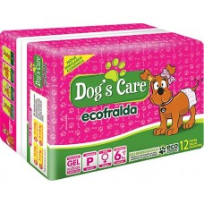 16793 - FRALDA FEMEA DOGS CARE PEQUENO C/12UN