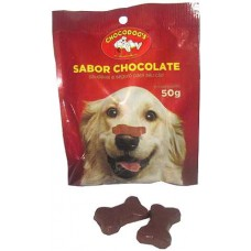 10857 - CHOCODOGS OSSINHO DISPLAY 50G C/12UN