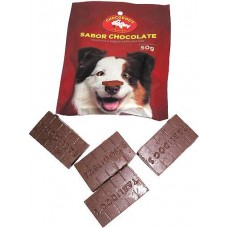 10858 - CHOCODOGS TABLETE DISPLAY 50G C/12UN