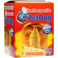 18947 - PANETTONE P/CAES CARNE 80G